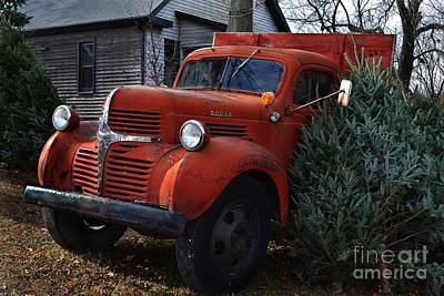 Indiana Photograph - Christmas On The Farm by Amy Lucid