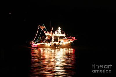 Christmas On The James River Print by Morgan Hill