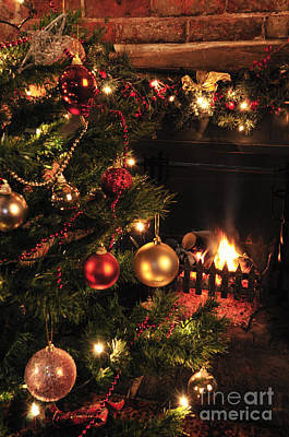 Fireplace Photograph - Christmas Round The Fire by Andy Smy