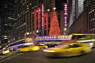 Christmas Times In Nyc Original by Eduard Moldoveanu