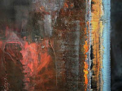 Chromatic Steel Print by Rona Black