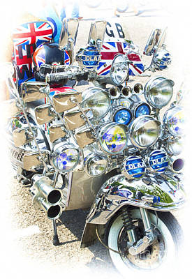 Chromed Classic Print by Tim Gainey