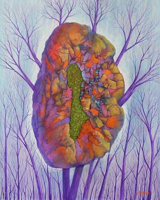Painting - Chrysalis by J W Kelly