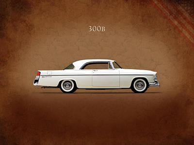 Photograph - Chrysler 300b 1956 by Mark Rogan