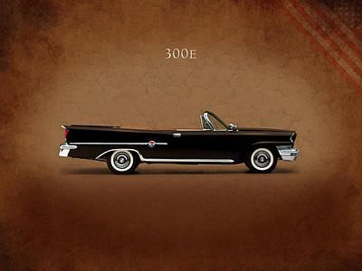 Photograph - Chrysler 300e 1959 by Mark Rogan