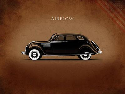 Photograph - Chrysler Airflow 1934 by Mark Rogan