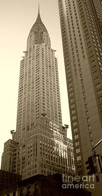 Chrysler Building Print by Debbi Granruth