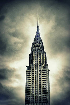 Chrysler Building Digital Art - Chrysler Building by Jessica Jenney