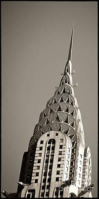 Wolkenkratzer Photograph - Chrysler Building New York City by Juergen Held