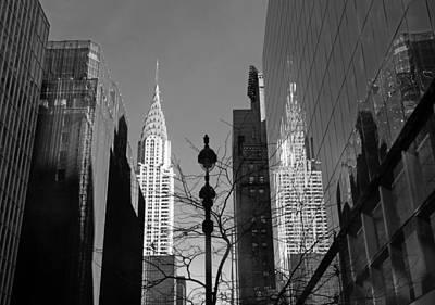 Chrysler Building Digital Art - Chrysler Contrast by Jessica Jenney