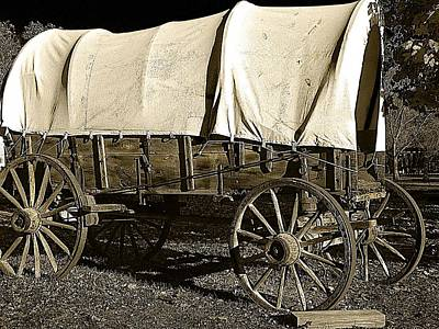 Old West Photograph - Chuck Wagon 2 by Scott Hovind