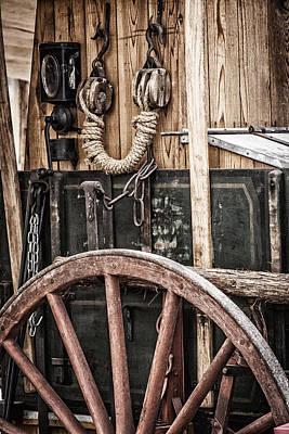 Rodeo Drive Mixed Media - Chuck Wagon by David Wagner