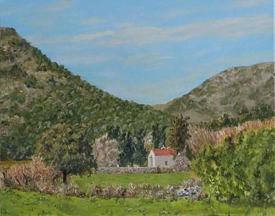 Church At Gonias, Askyfou Plateau, Crete Original by David Capon