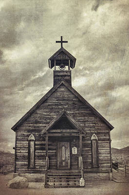 Old West Photograph - Church At The Mount by Saija Lehtonen