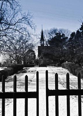 Photograph - Church by Nora Blansett