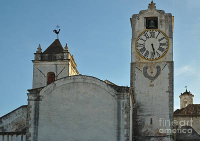 Religious Photograph - Church Of Saint Mary In Tavira. Portugal by Angelo DeVal