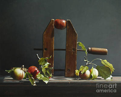 Preston Painting - Cider  by Larry Preston