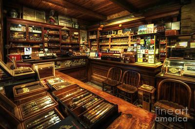 Cigar Shop Print by Yhun Suarez