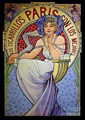 Photograph - Cigarette Ad 1897 by Padre Art