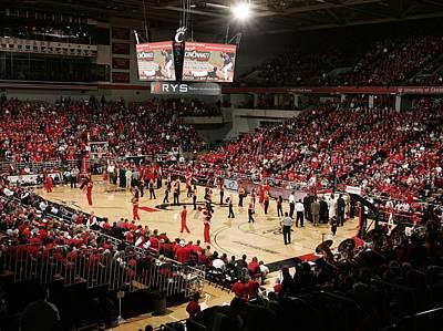 Ohio Photograph - Cincinnati Bearcats Fifth Third Arena by Replay Photos