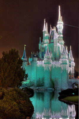 Magic Kingdom Photograph - Cinderella's Castle In Winter by Rachel Crozier