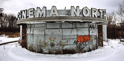 Abandoned Photograph - Cinema North by George Patterson