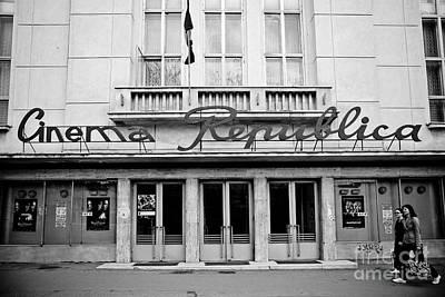 Cinema Republica Print by Gabriela Insuratelu