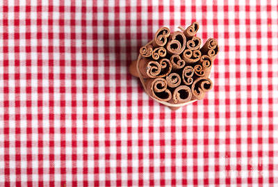 Cinnamon Print by Nailia Schwarz