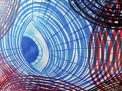 Abstract Photograph - Circles No. 1 by Sandy Taylor