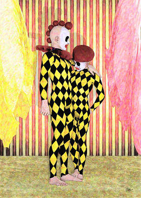 Circus Of The Boys  Print by Quim Abella