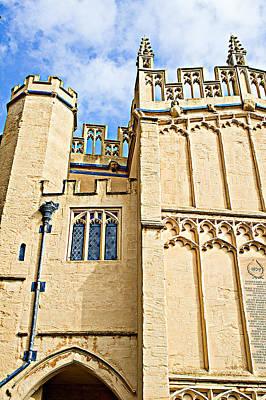 Christian Sacred Photograph - Cirencester Parish Church by Tom Gowanlock