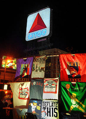 Boston Photograph - Citgo Sign - Boston Street Scenes 2 by Joann Vitali