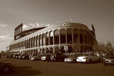 Ebbets Field Photograph - Citi Field - New York Mets 14 by Frank Romeo