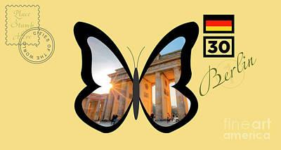 Berlin Mixed Media - Cities Of The World   Berlin 1 by Jurii Karelin