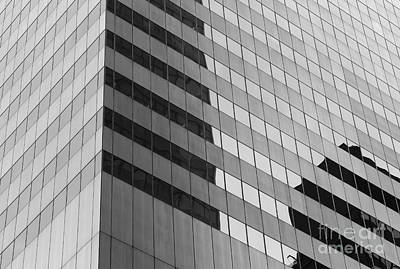 Citigroup Facade IIi Print by Clarence Holmes
