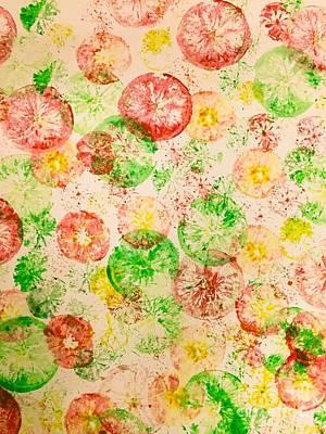 Brunch Painting - Citrus Art 01 by Sarah Arace