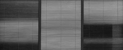 Photograph - City Blinds by KM Corcoran
