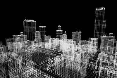 Estate Photograph - City Buildings Project by Michal Bednarek