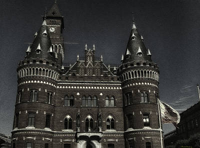 Helsingborg Photograph - City Hall Of Helsingborg by Ramon Martinez