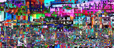 Digital Art - City Interests Fixation  by Mary Clanahan