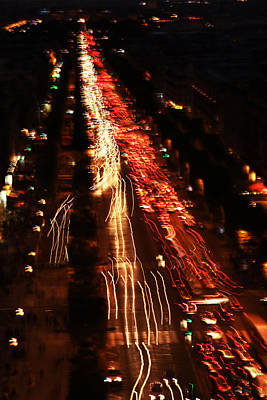 City Lights Print by Fine Arts