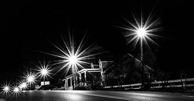 Crosswalk Photograph - City Lights by Shelby Young