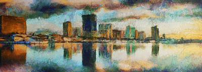 City Limits - Painting Original by Sir Josef Social Critic - ART