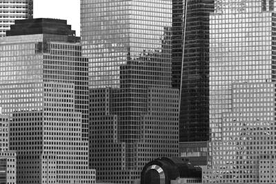 City - Ny - Brookfield Place Print by Mike Savad