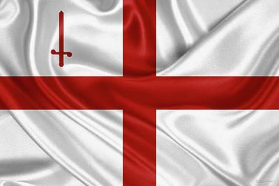 City Of London Flag  Original by Serge Averbukh