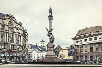 Eastern Europe Photograph - City Of Memories by Evelina Kremsdorf
