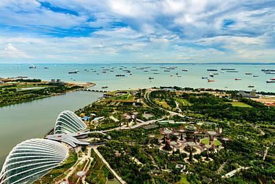 Ocean Photograph - City Of Singapore by Michael Scott
