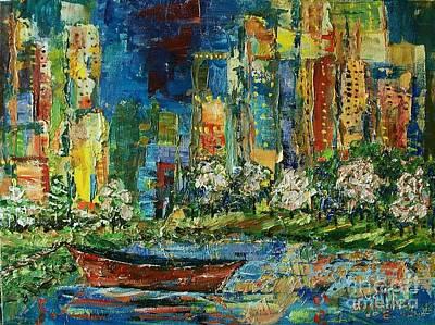 City Solace Original by Judith Espinoza