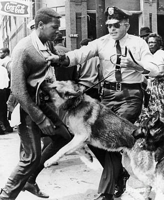 Civil Rights, 1963 Print by Granger
