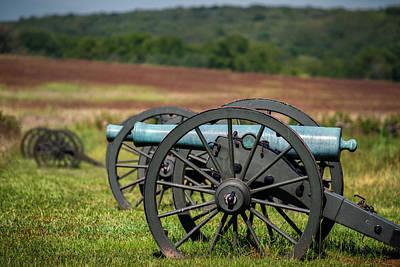 Civil War Artillery Print by James Barber